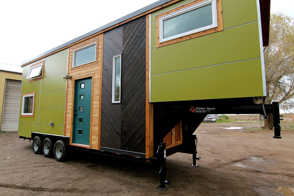 31' Custom Tiny House by Mitchcraft Tiny Homes for Elise and Clara