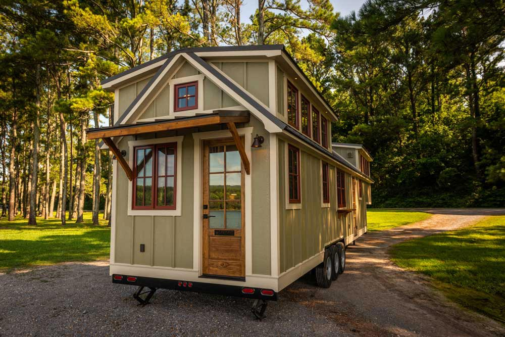 "Enormous 41' ""Denali XL"" Gooseneck Tiny House by Timbercraft Tiny Homes"