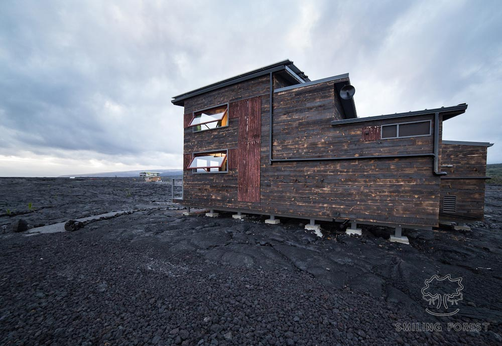 Phoenix House by Artistree Treehouse on Mauna Loa in Hawaii