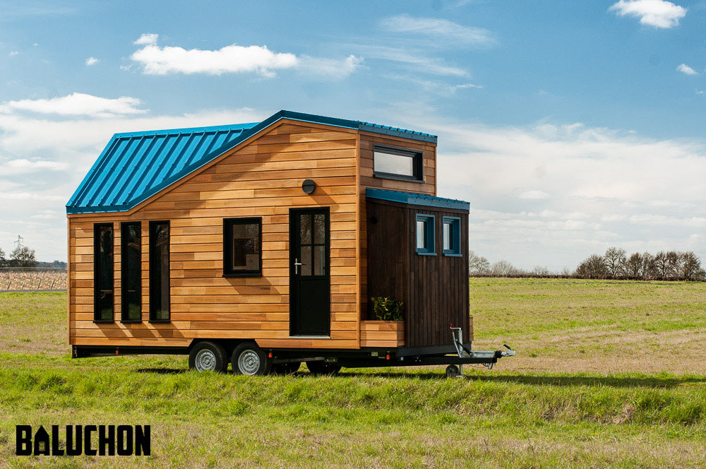 "Quaint ""Essen'Ciel"" Tiny Home on Wheels by Tiny House Baluchon"