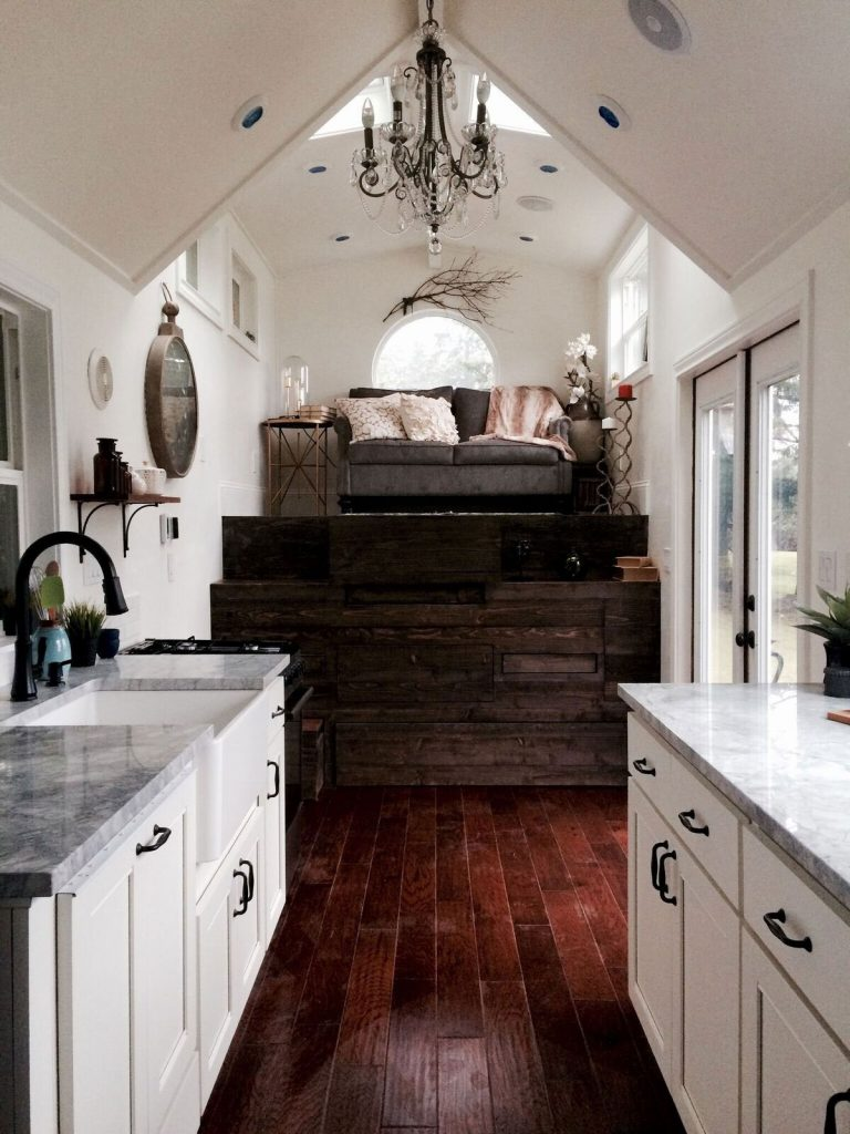Vintage Glam Tiny House on Wheels by Tiny Heirloom