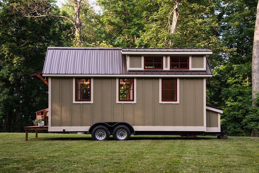 "The 20' ""Ynez"" Tiny House on Wheels by Timbercraft Tiny Homes"