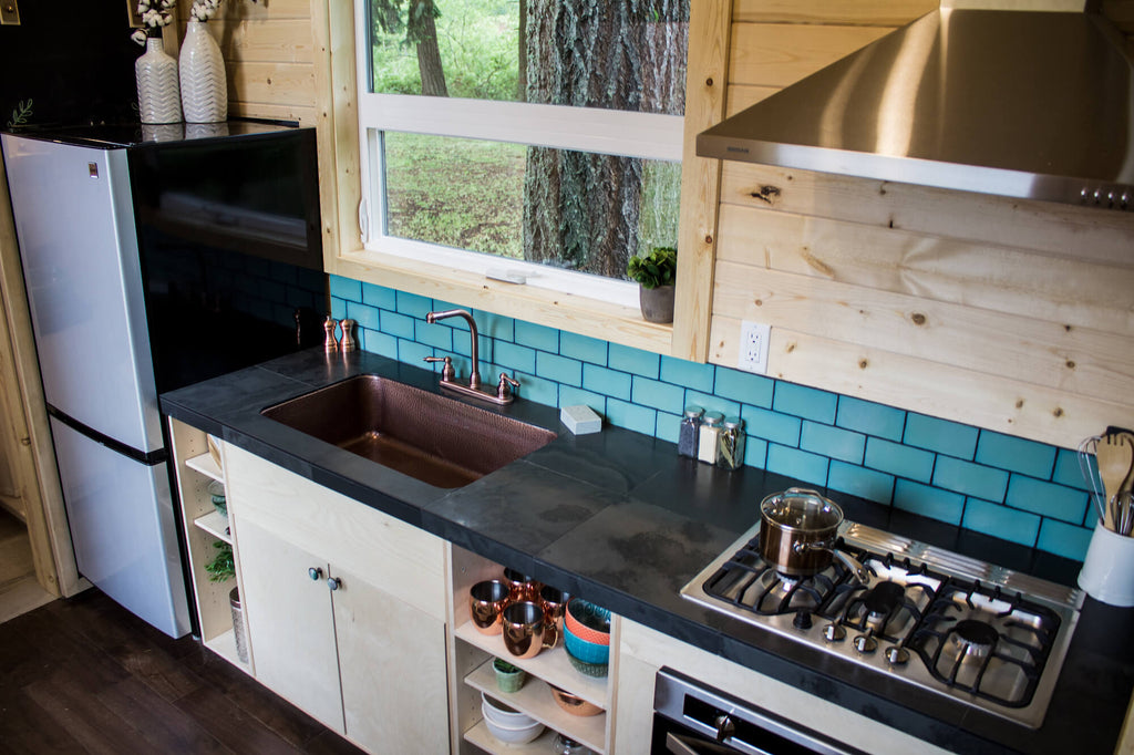 "The ""Apothecary"" Tiny House on Wheels by Tiny Heirloom"