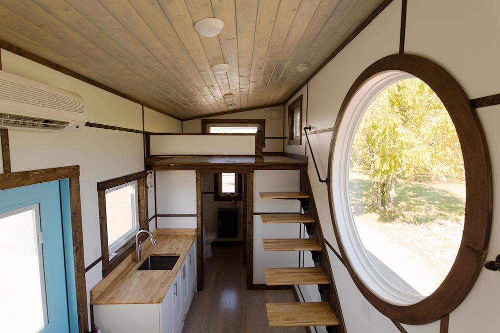 "20' Gooseneck ""View"" Tiny Home on Wheels by Tiny House Chattanooga"