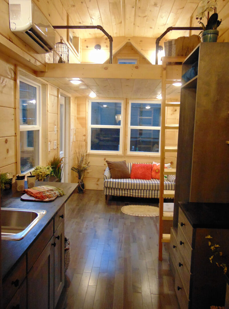 "20' ""Rookwood Cottage"" Tiny House on Wheels by Incredible Tiny Homes"
