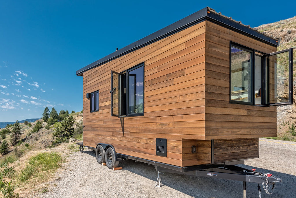 "22' ""Wanderer"" Tiny House on Wheels by Summit Tiny Homes"