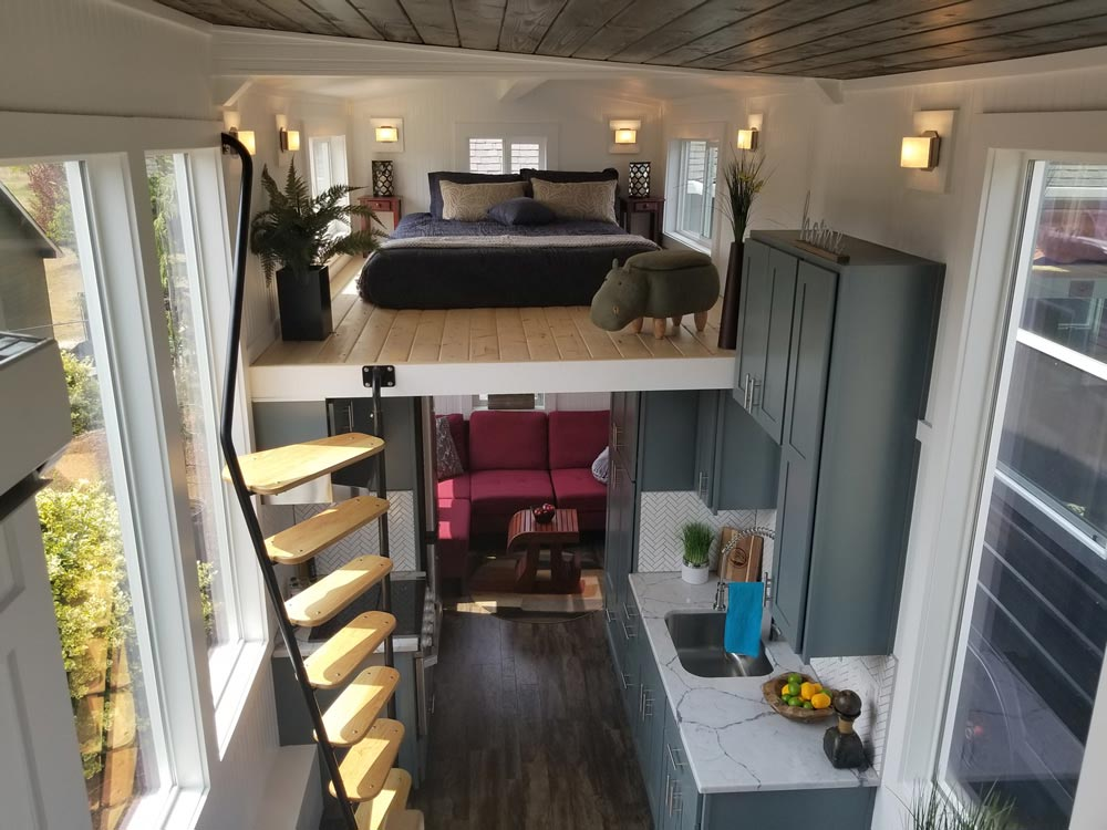 "26' ""Mt. Bachelor"" Tiny Home on Wheels by Tiny Mountain Houses"