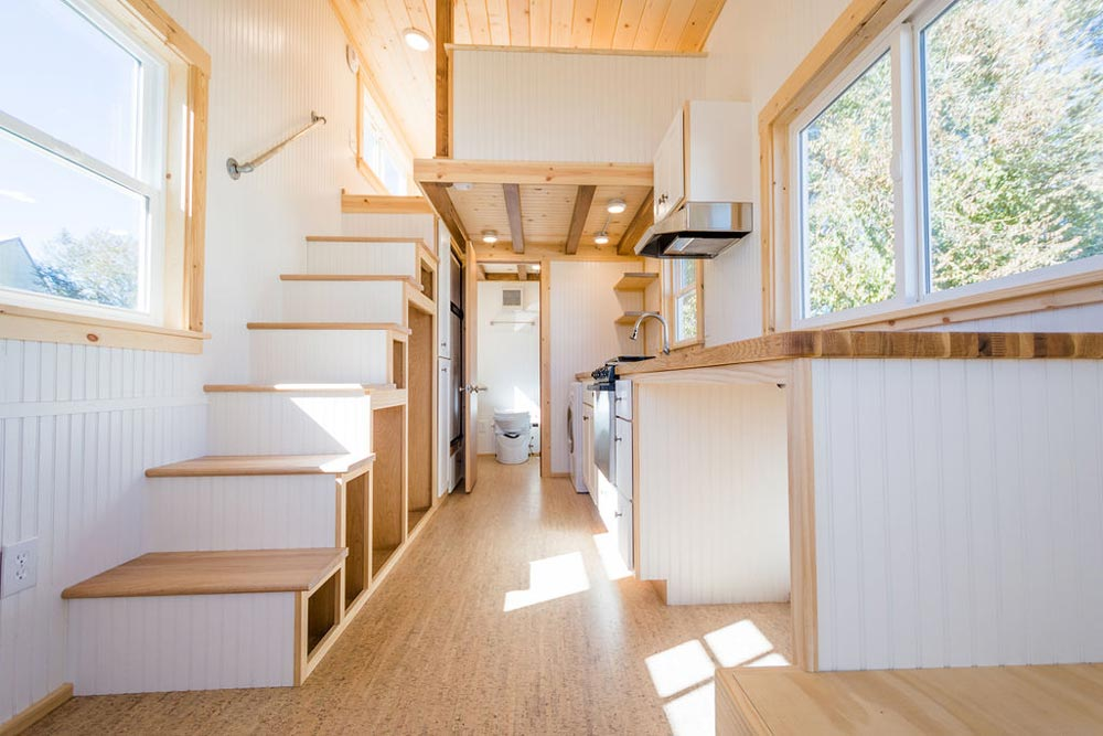 Custom 22' Off-Grid Tiny House on Wheels by MitchCraft Tiny Homes