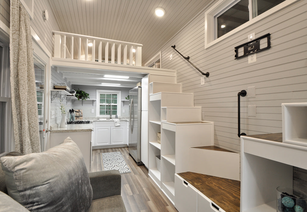 """The Elegant """"Kate"""" Tiny Home on Wheels by Tiny House ..."""