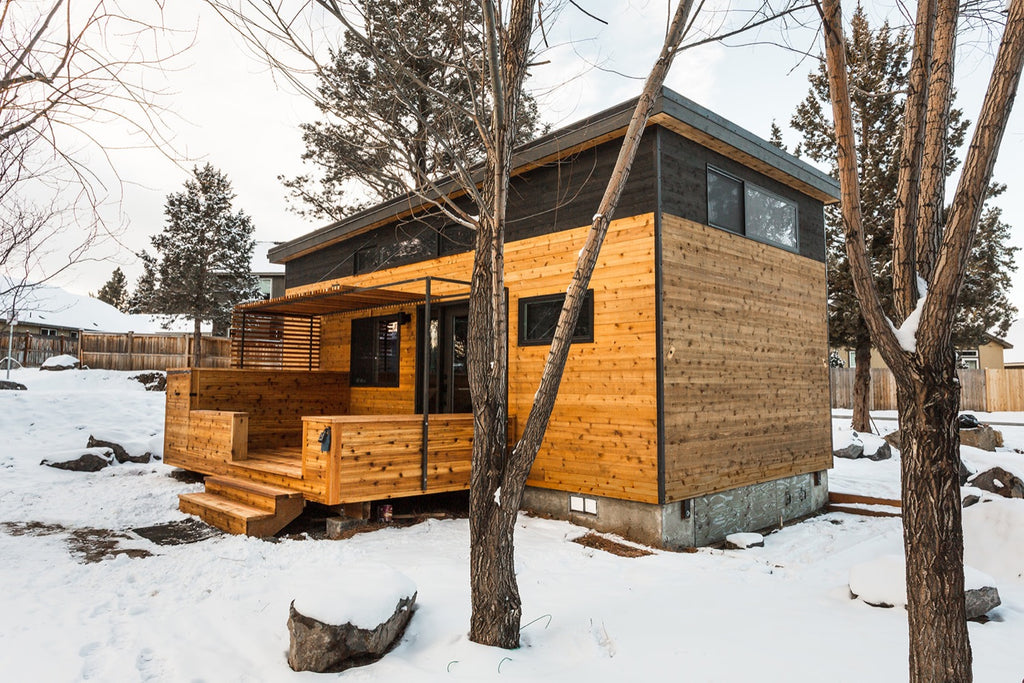 """The Hiatus House"" Built by Tiny SMART House for Cottage Community in Bend, OR"