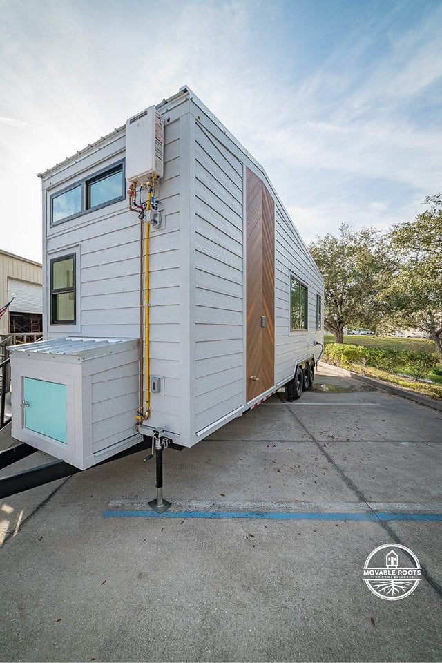 "28' ""Lindstrom"" Tiny House on Wheels by Movable Roots"