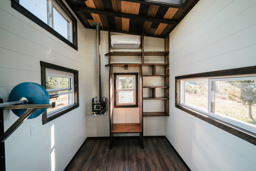 the silhouette by wind river tiny homes a crossfit gym in your tiny rh dreambiglivetinyco com tiny house gym tiny house gympie