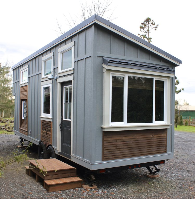 Urban Craftsman tiny house on wheels by Handcrafted Movement