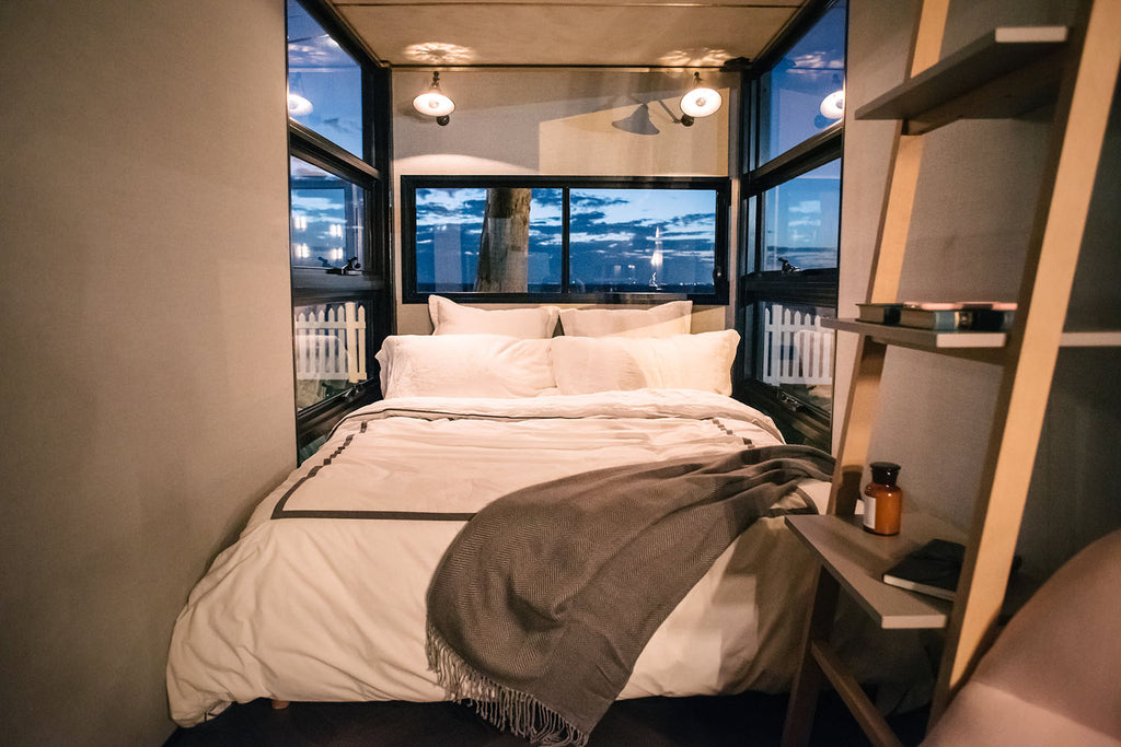 20' Container Boutique Hotel Room in Australia by Contained