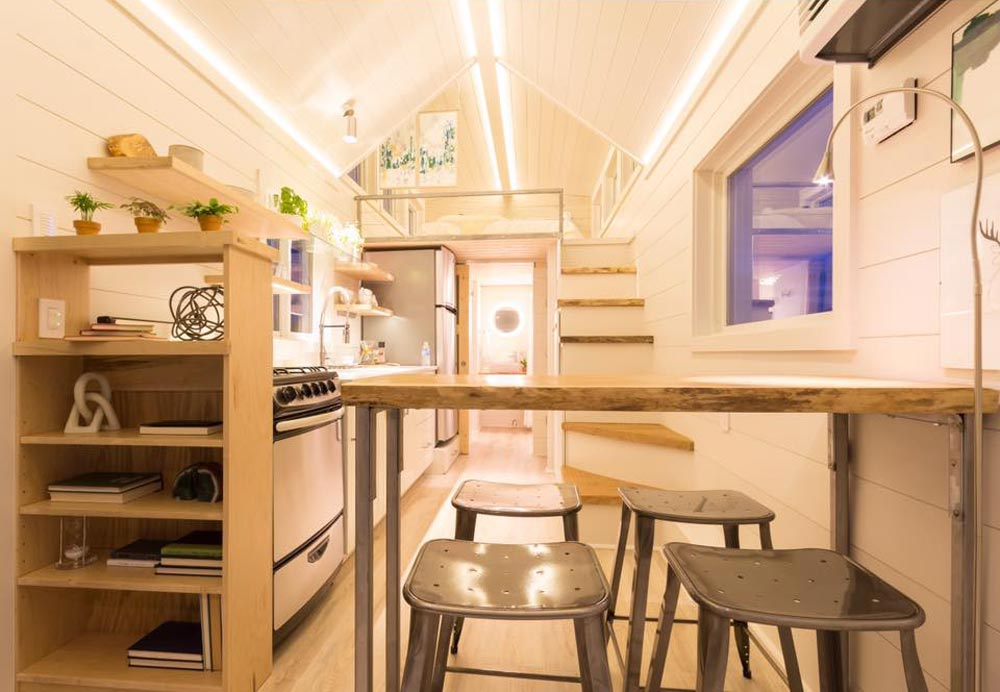323-sqft Elsa Double Trailer Tiny House by Olive Nest Tiny Homes