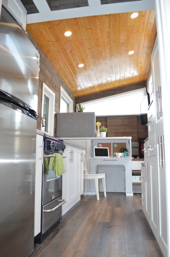 24' Pursuit Tiny House on Wheels by Nielsen Tiny Holmes
