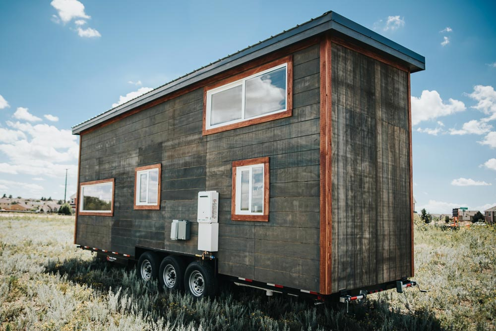 "Rustic ""Four Eagle"" Tiny House on Wheels by The Tiny Home Co."