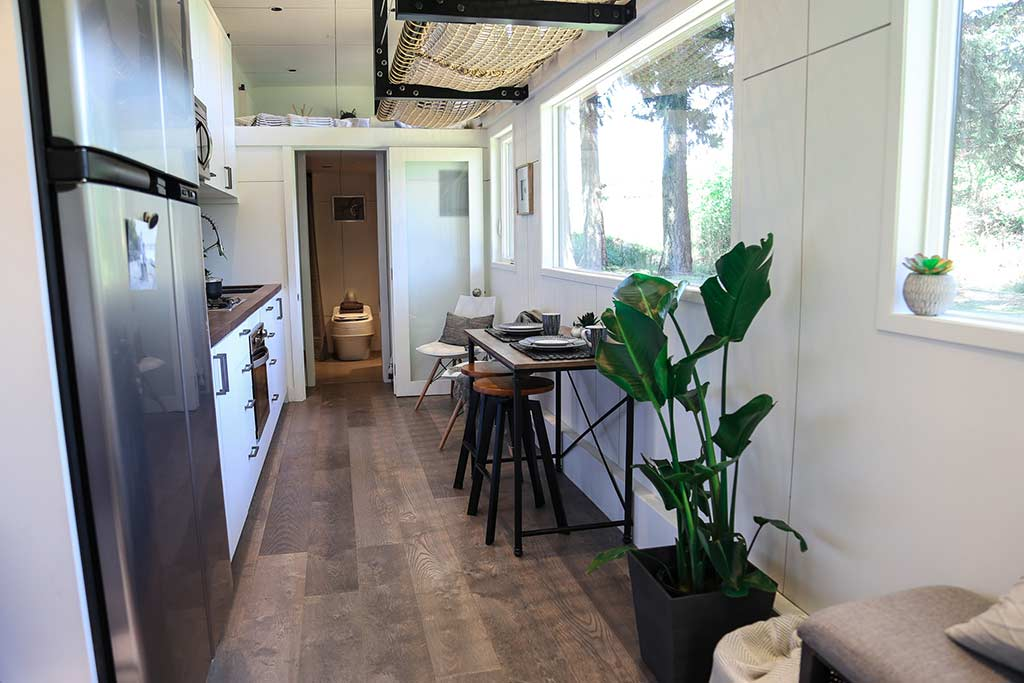 Tiny House Big Kitchen by Tiny Herloom in Portland, Oregon