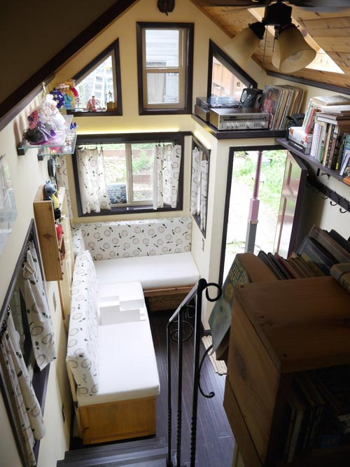 "20' ""Maiden Mansion"" Tiny House on Wheels by Pocket Mansions"