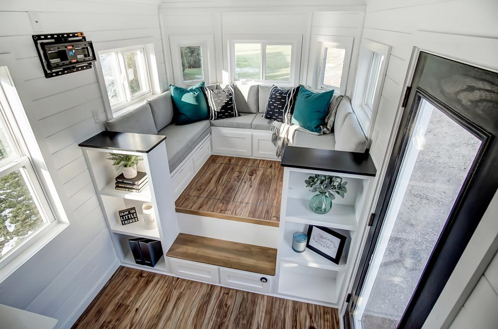 "24' ""Braxton"" Tiny House on Wheels by Modern Tiny Living"
