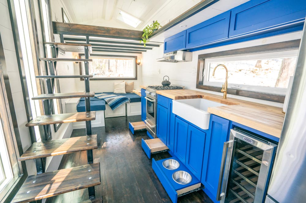"26' ""Ark"" Off-Grid Tiny House on Wheels by Willowbee Tiny Homes"