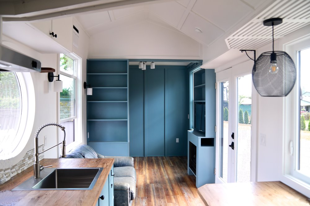 "30' ""Oceanside"" Tiny House on Wheels by Handcrafted Movement"