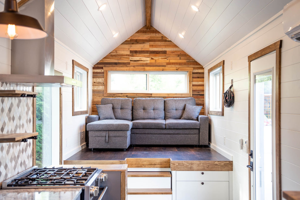 32' Tedesco Tiny House on Wheels by Liberation Tiny Homes