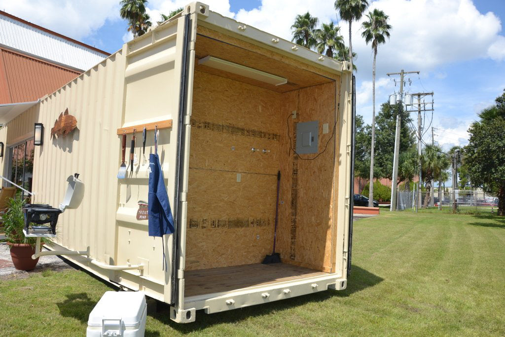 45' Custom Container Cabin FOR SALE by American Trailer Rentals