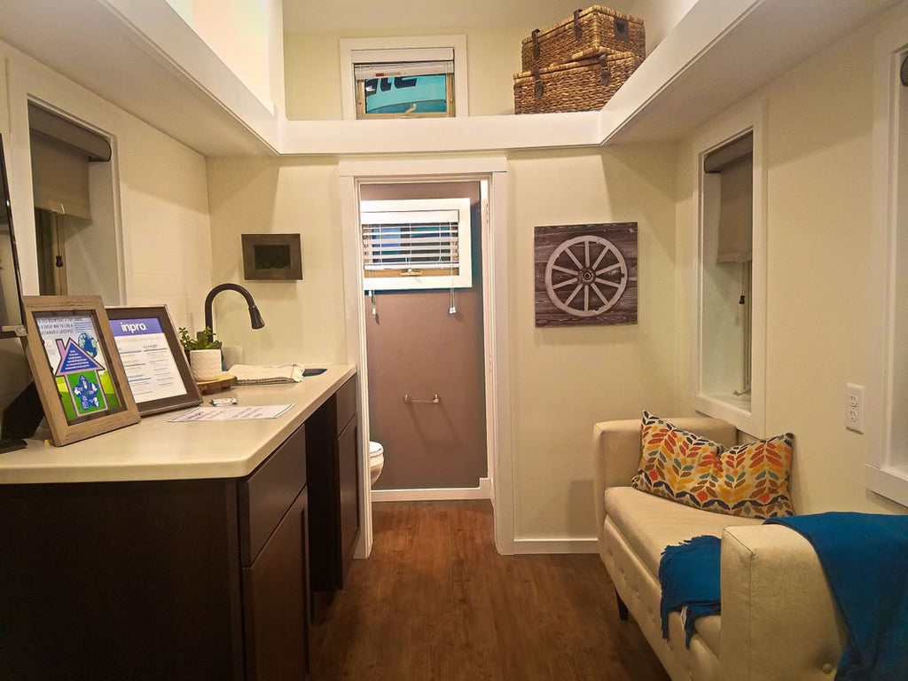 100 sqft Centipede Tiny House on Wheels by Utopian Villas