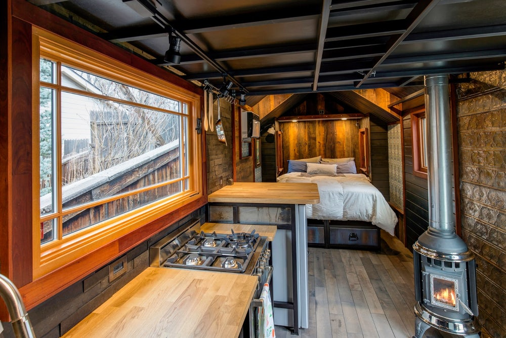 200-sqft Earth and Sky Palace Luxurious Tiny House on Wheels