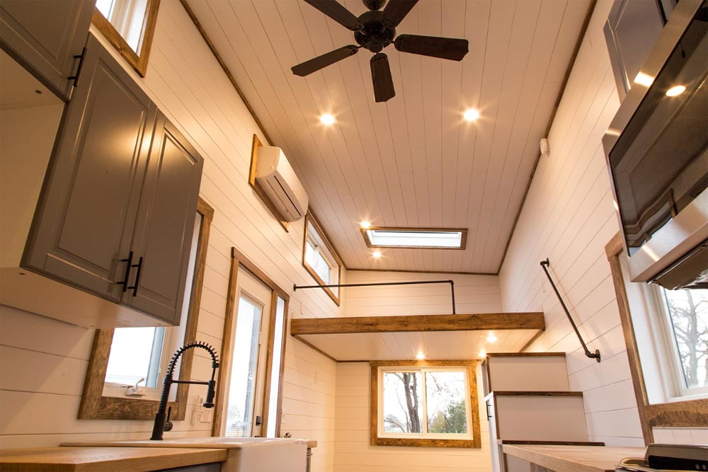 "224-sqft ""Modern"" (Take Three) Tiny House on Wheels by Liberation Tiny Homes"