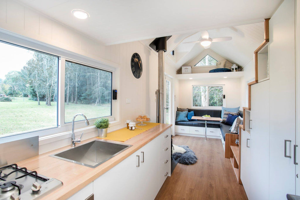 "23.5' ""Lifestyle Series 7200SLC"" Tiny House on Wheels by Designer Eco Homes"