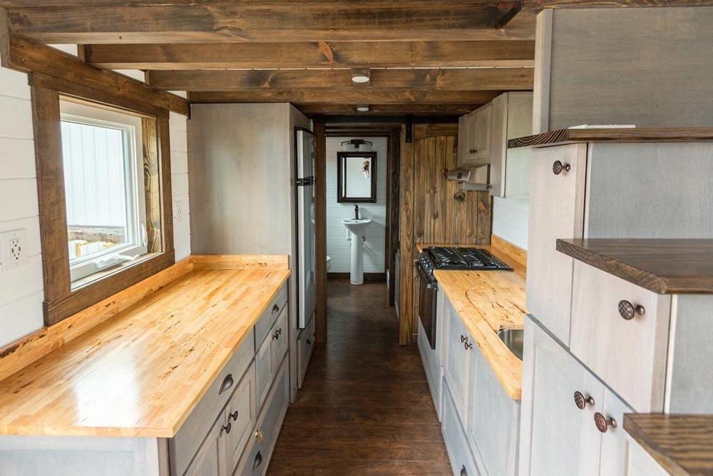 "24' ""Outlander"" Tiny Home on Wheels by Tiny House Chattanooga"