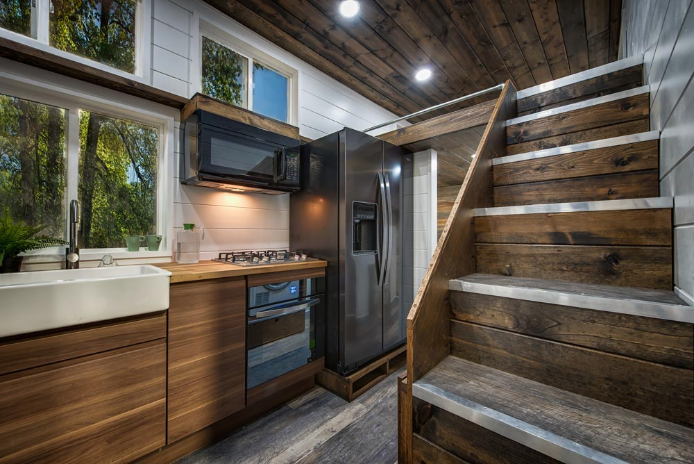 "30' ""Grizzly"" Tiny House on Wheels by Backcountry Tiny Homes"