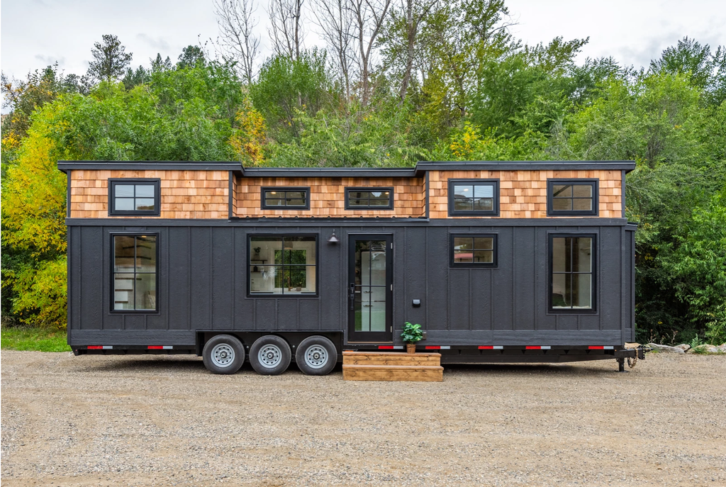 "34' ""Modern Bohemian"" Tiny House on Wheels by Summit Tiny Homes"