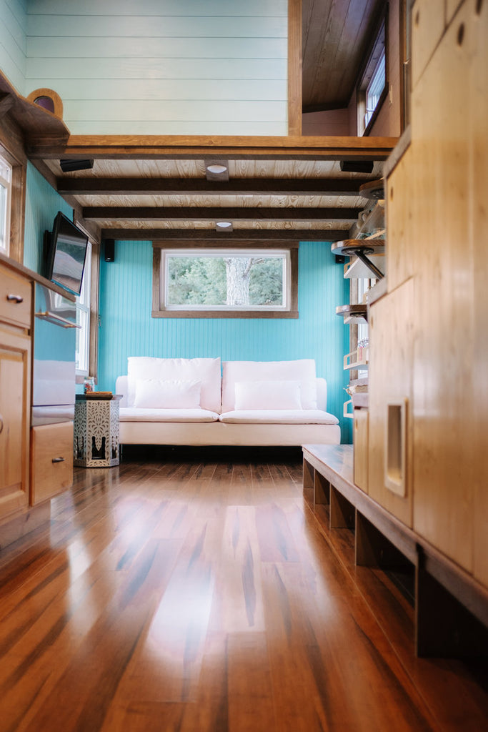 "30' ""Big Whimsy"" Tiny House on Wheels by Wind River Tiny Homes"