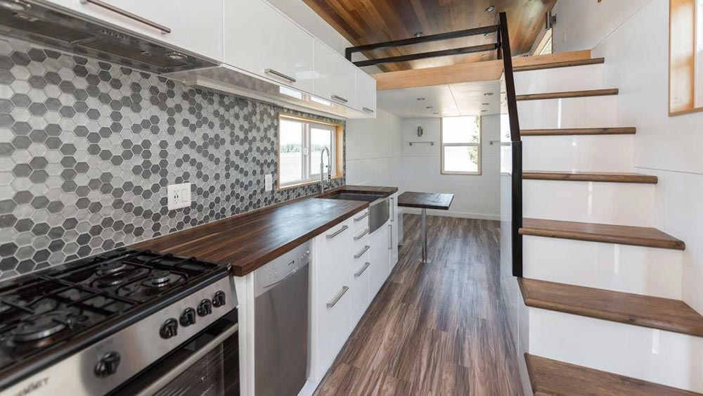 "317-sqft ""Catalina"" Tiny House on Wheels by Tiny Innovations"