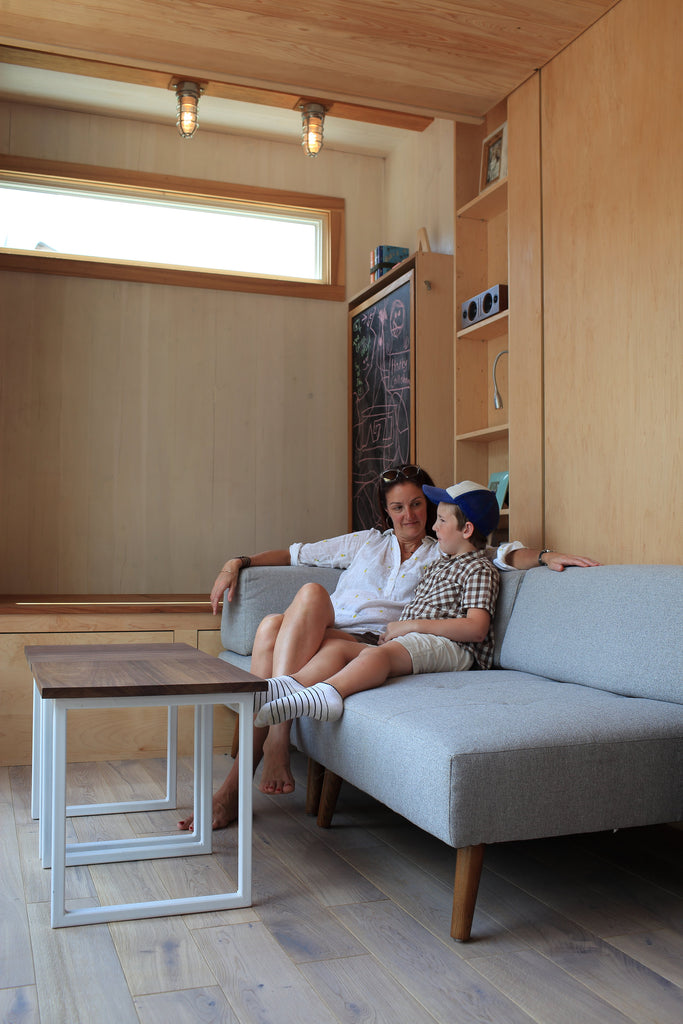 "The 21' Space-Saving ""Sturgis"" Tiny Home by Cubist Engineering"