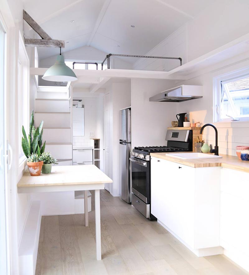 "The 30' ""Malibu"" Tiny House on Wheels by Handcrafted Movement"