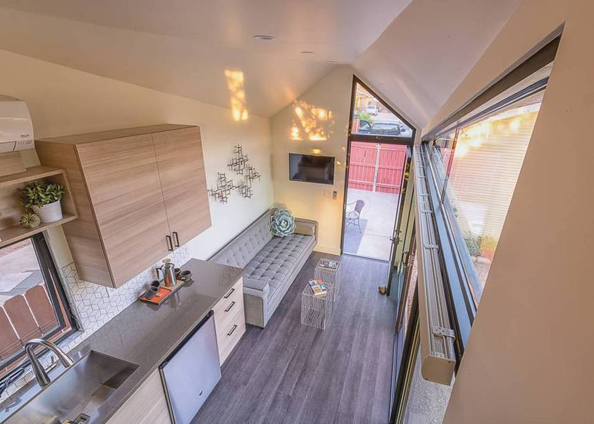 "The ""Nest""—A 24' Tiny House Airbnb Rental in Phoenix, Arizona"