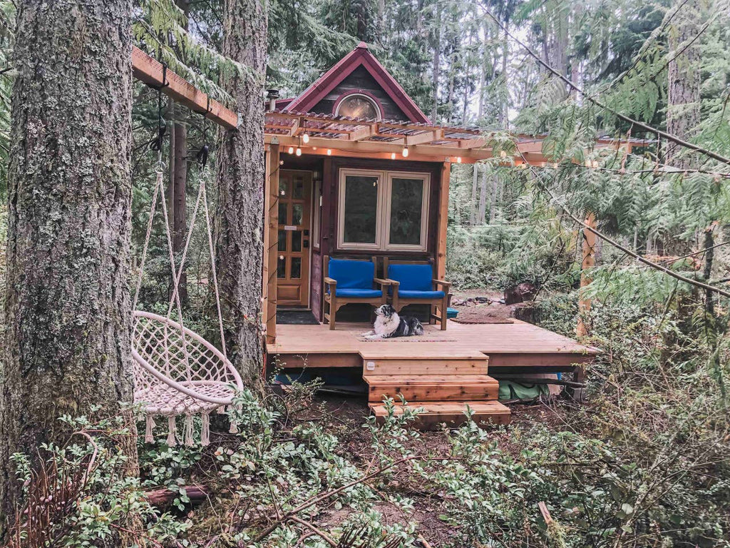 @tinyhousegiantjourney Tiny House on Whidbey Island for rent on Airbnb in Clinton, Washington