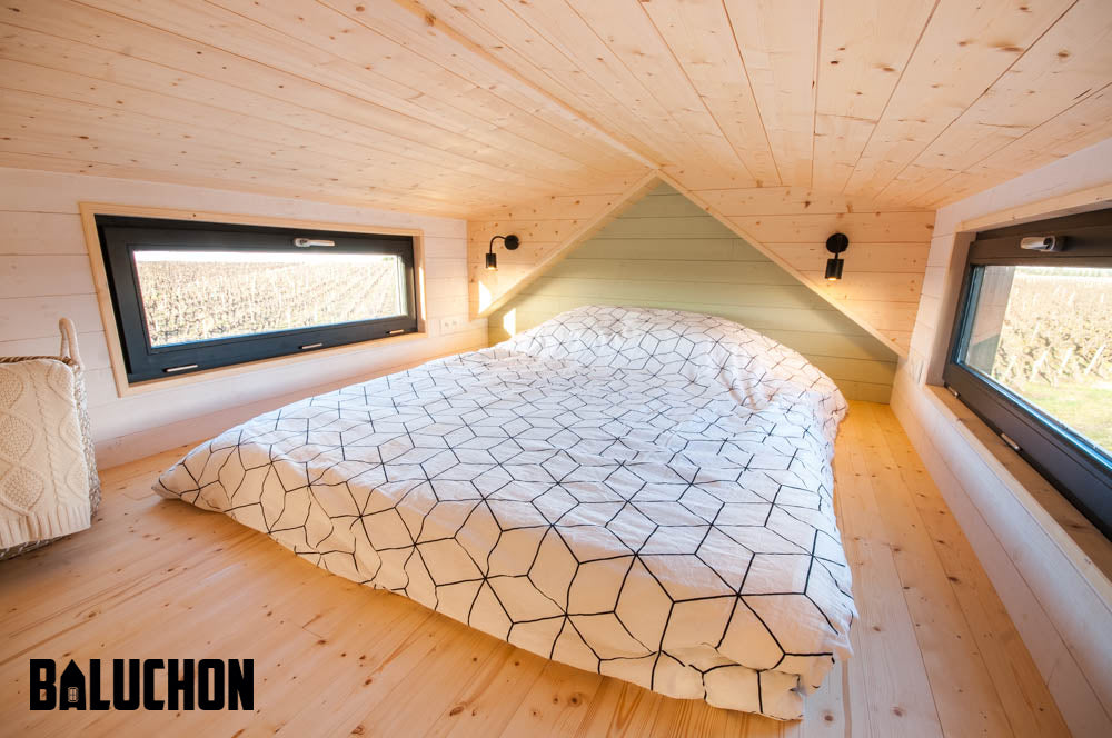 """Le Petit Prince""—19.5' Tiny Home on Wheels by Tiny House Baluchon"
