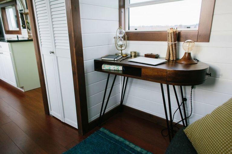 24' Emerald Tiny House on Wheels by Tiny Heirloom