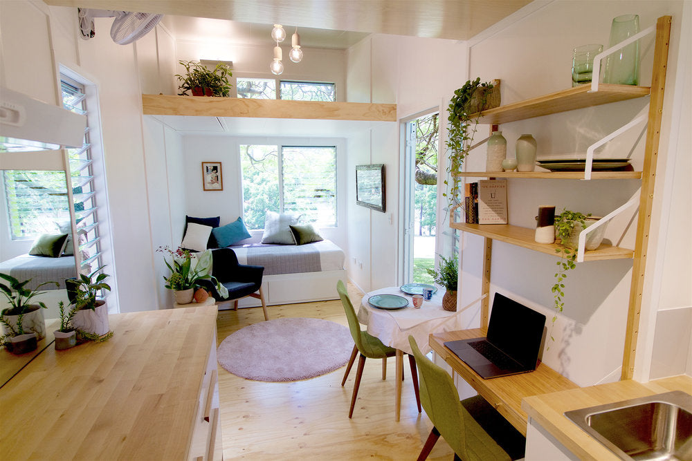 "The Incredible 24' ""Swallowtail"" by the Tiny House Company"