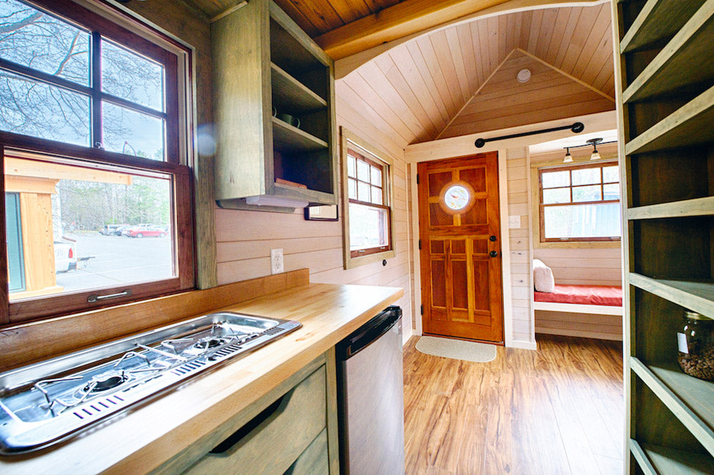 "16' ""Weller"" Tiny House on Wheels by Wishbone Tiny Homes"