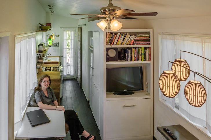 232-sqft Tiny House Built for Only $11,000 is Home to a Family of Four!