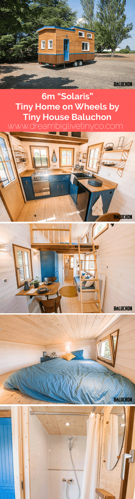 "6m ""Solaris"" Tiny Home on Wheels by Tiny House Baluchon"