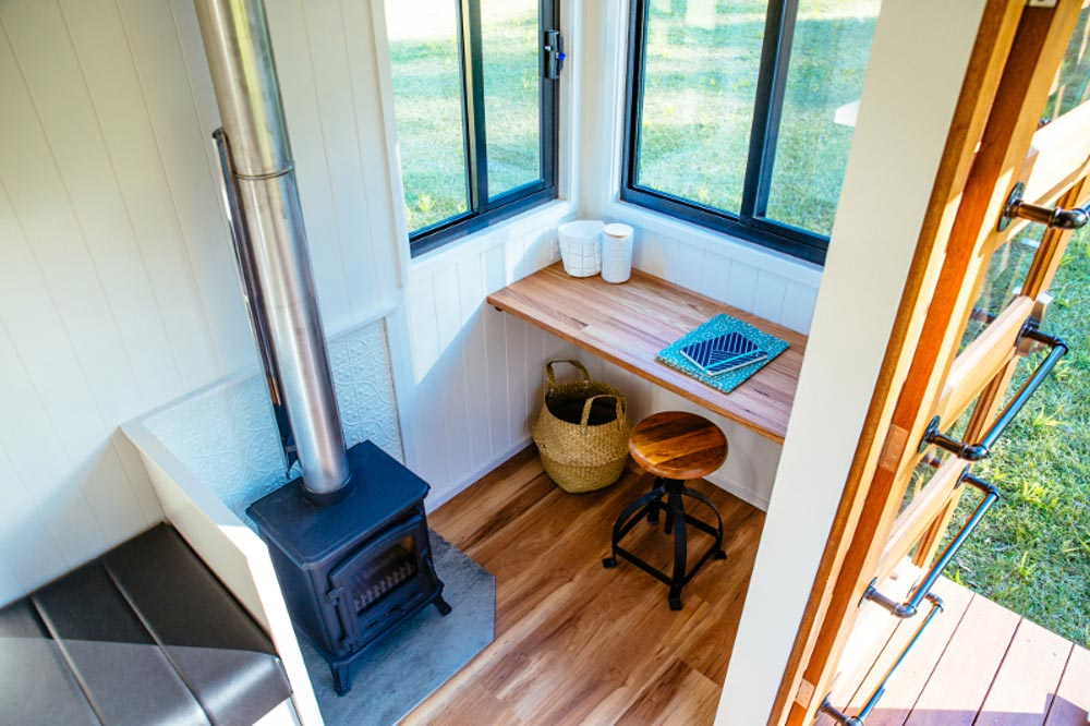 The 20' Graduate Series 6000DL Tiny House by Designer Eco Homes