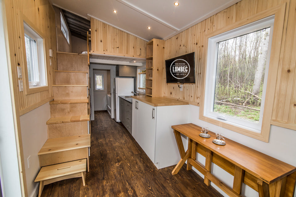 The 24 Th2 Debut Tiny Home By Tiny House Lumbec Dream