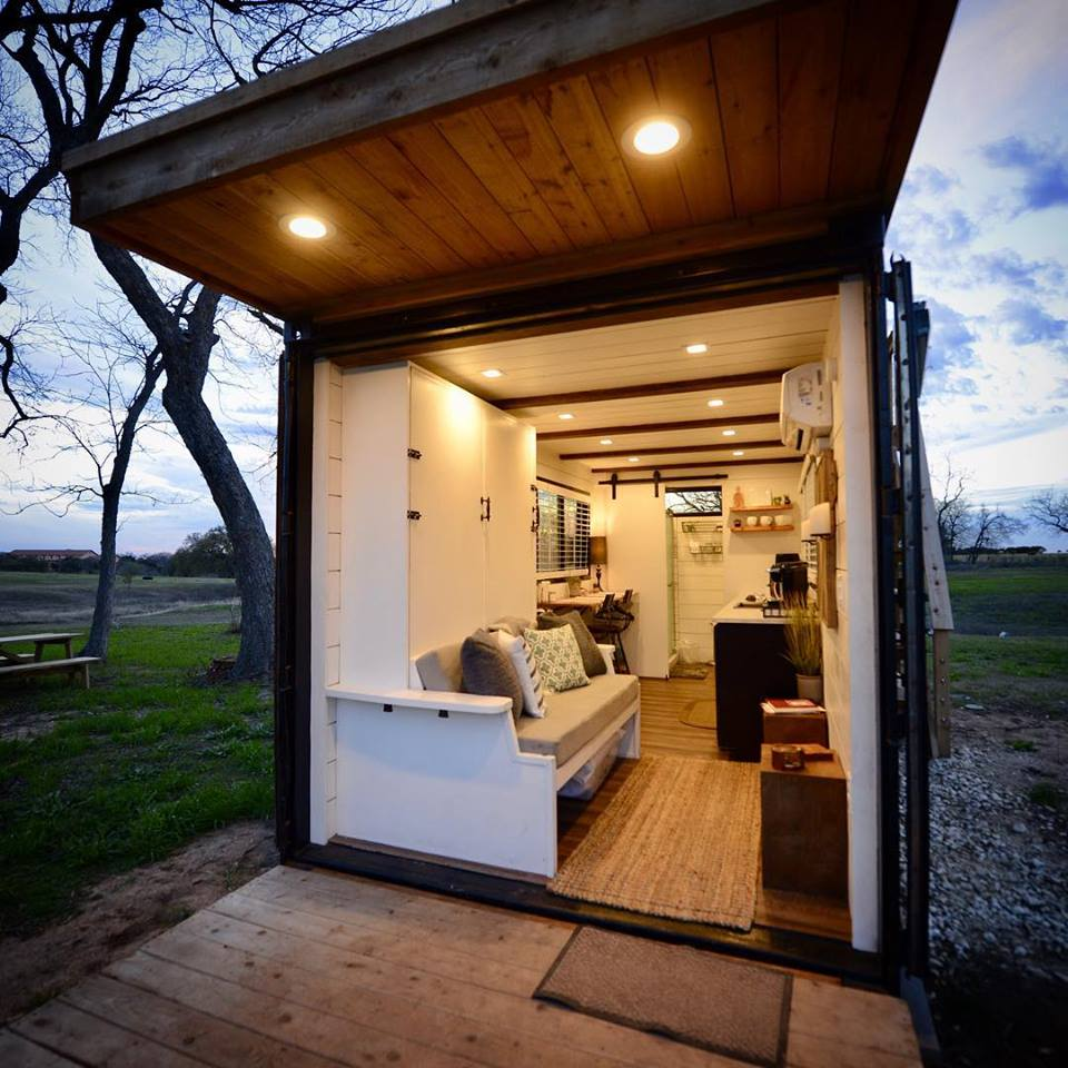 "20' ""Anchor"" Tiny Container Home by CargoHome in Texas"